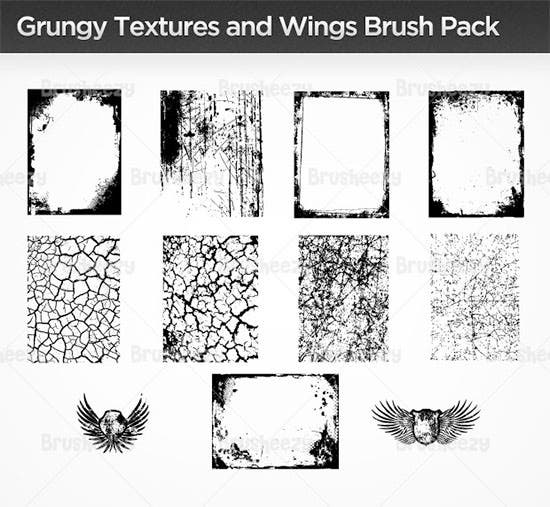 wings brush pack
