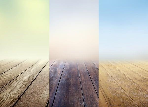 wooden floor full