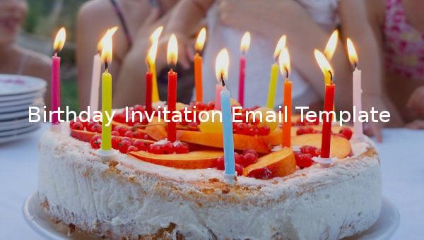 birthdayinvitationemailtemplate