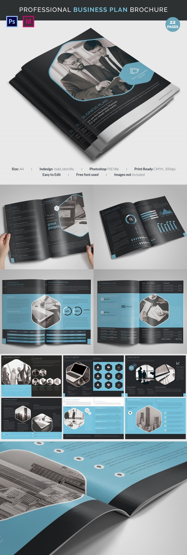 Best Business Marketing Plan Template - 20+ Free PSD, ESI Format ...