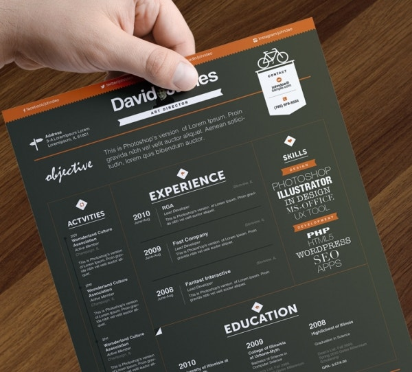 Creative Executivesu0027 Resume. Download  Creative Resume Templates Free Download