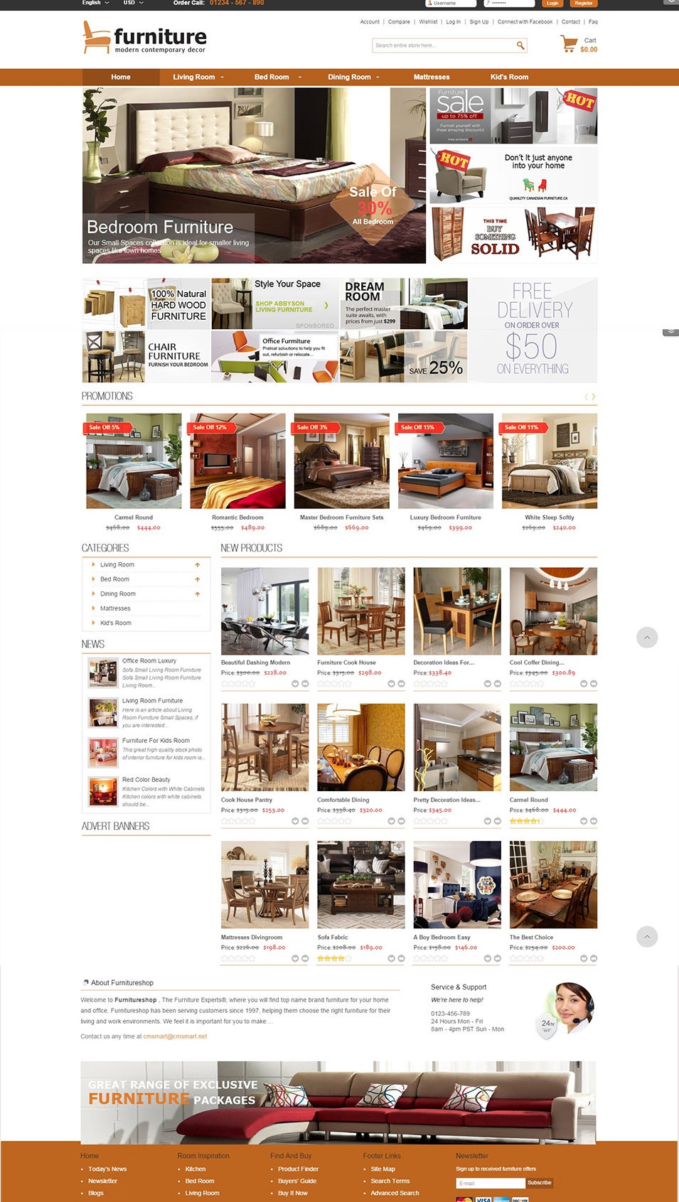 Furniture Magento Templates