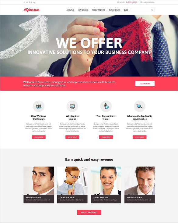 corporate best drupal for business