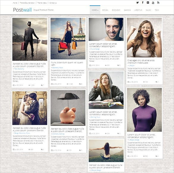 drupal theme for magazine 1