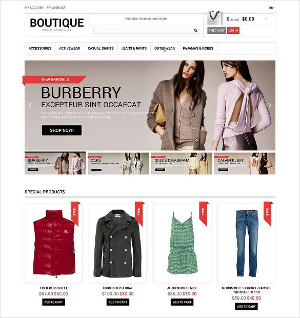 19 boutique website themes amp templates free amp premium