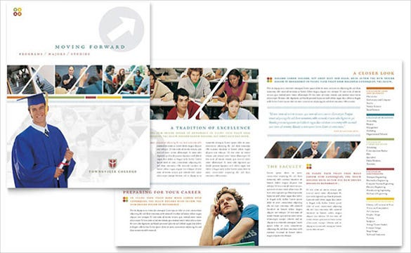 college university brochure template1