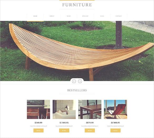furniture manufacturing company joomla template1