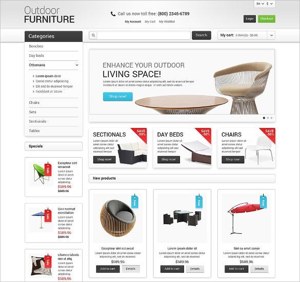 furniture for your garden magento theme1