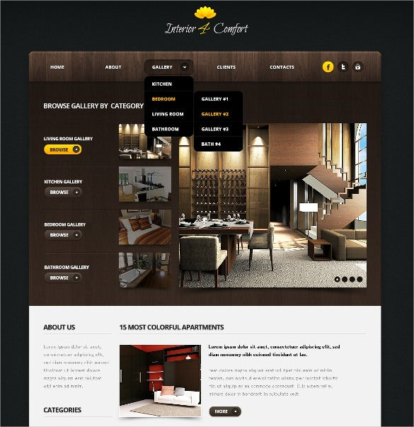 33 Jquery Html5 Website Themes Templates Free Premium Templates