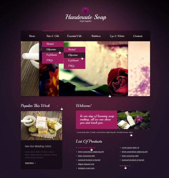 crafts website template1
