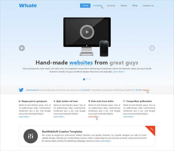 creative html5 template1