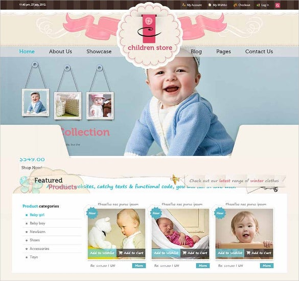 children store responsive ecommerce html5 theme1