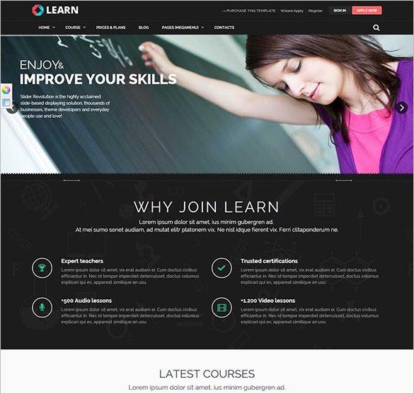 25+ Education HTML5 Themes & Templates | Free & Premium