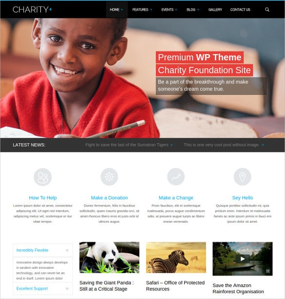 charity donations non profit wordpress theme 49