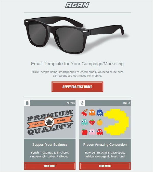 Email Marketing Template – 21+ Free PSD, EPS, Documents Download ...