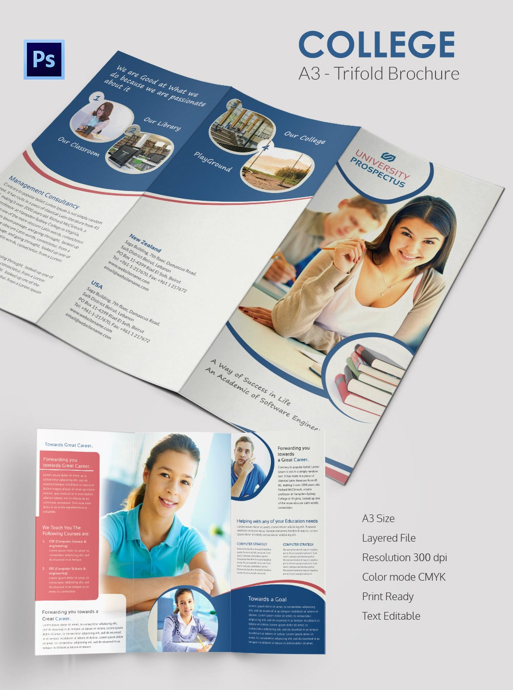 college brochure template 34 jpg psd indesign format college a3 tri fold brochure template college a3 trifold brochure