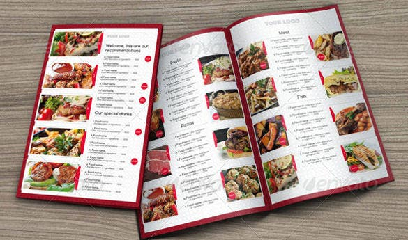 Menu Design Template   Free Psd Eps Documents Download  Free