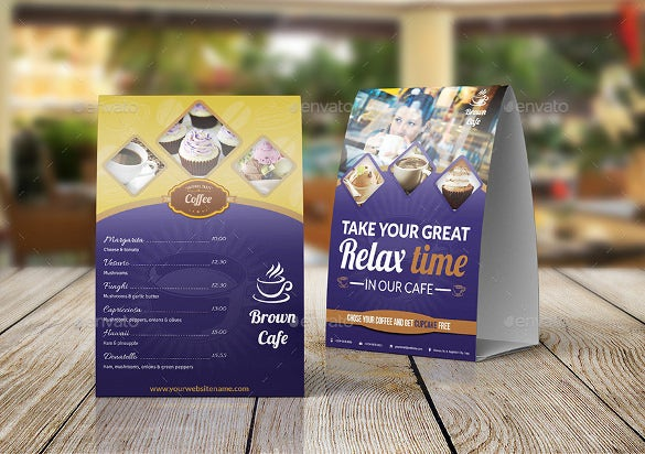 cafe and restaurant menu design template download