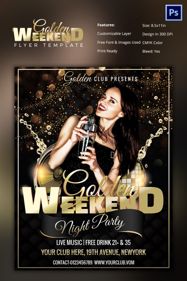 free nightclub flyer design templates - 27 free psd club flyer templates designs free