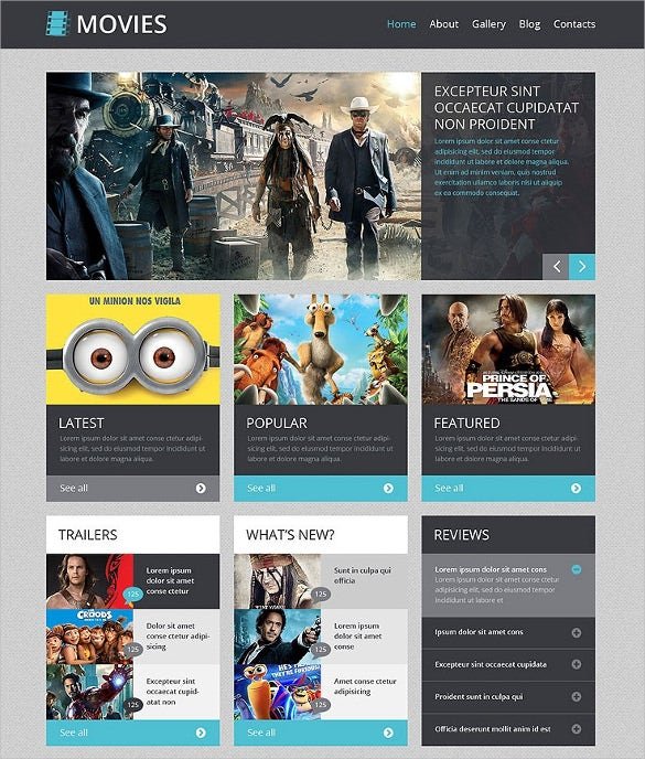 Premium Movie Responsive WordPress Theme