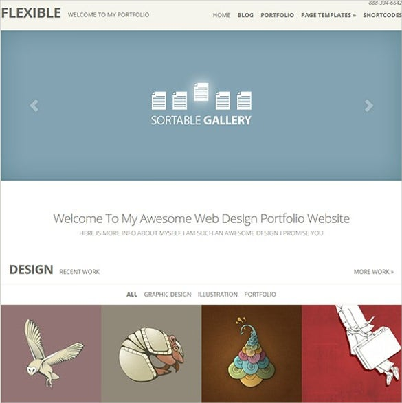 prmium flexible multimedia galeery wordpress template