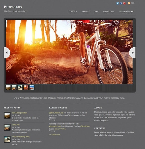 photobox multimedia wordpress theme