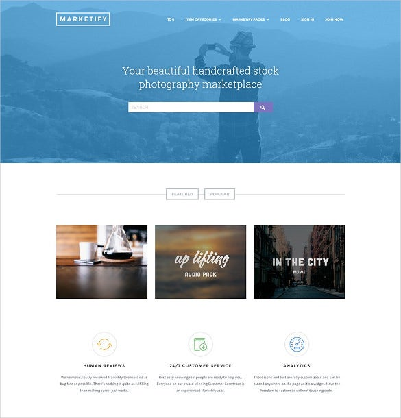 digital marketplace wordpress theme