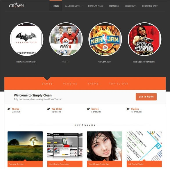 eshop wordpress marketplace template