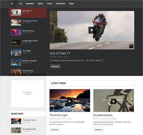 20+ Video WordPress Themes & Templates | Free & Premium Templates