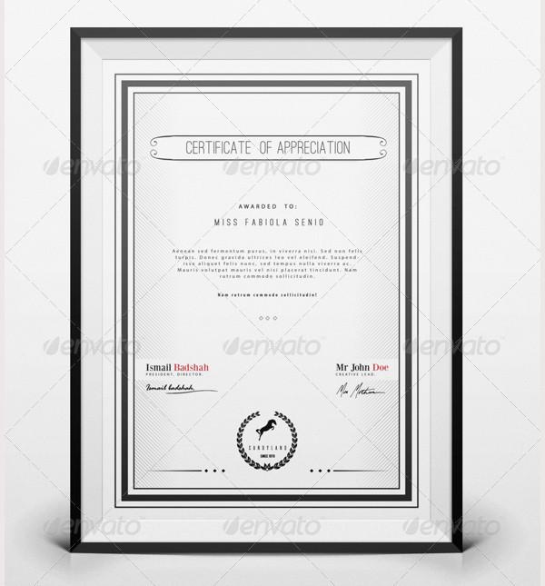 certificate pack 21