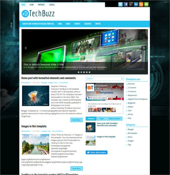 wordpress create blog page template - 30 best seo blog templates free premium themes free