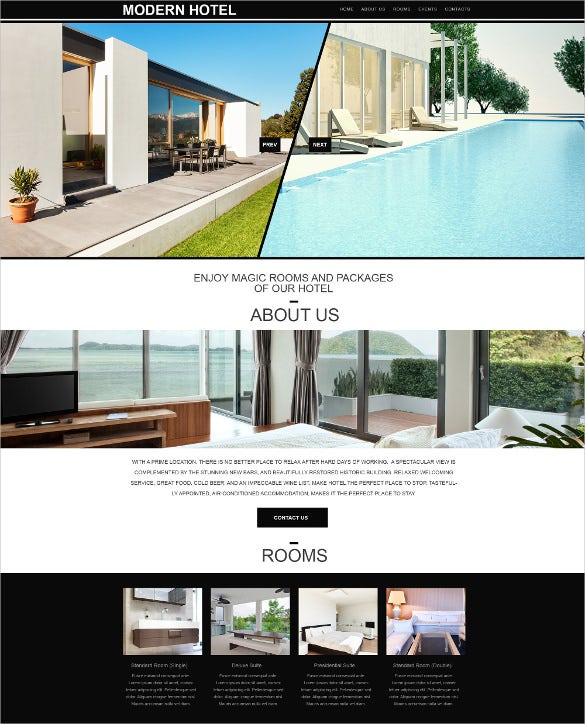 hotels muse html5 template