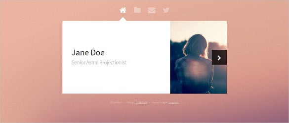 free html5 project template