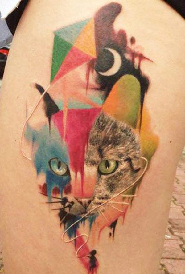 26 abstract tattoo by dzikson wildstyle copy