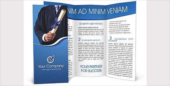 diploma brochure template1