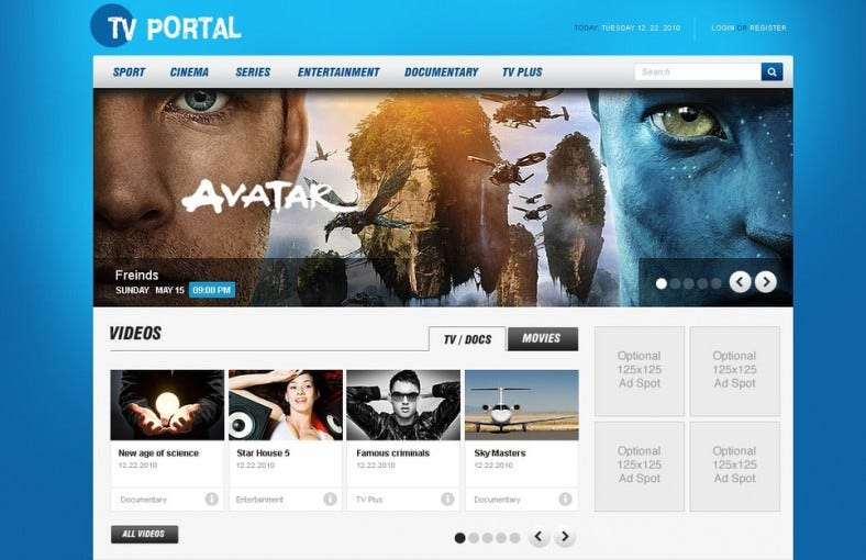 15 News Channel Html5 Website Themes Amp Templates Free