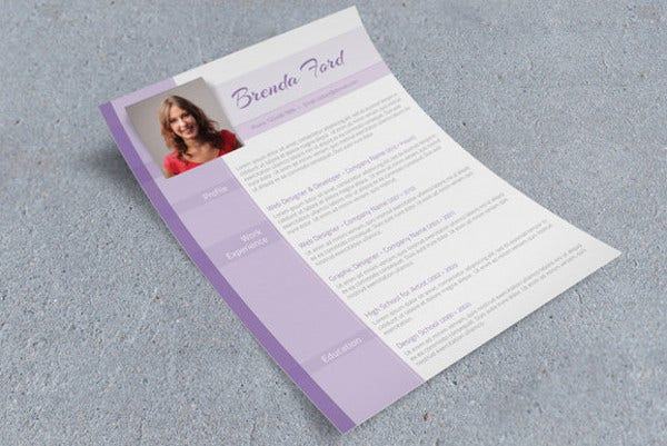 purple cv template1