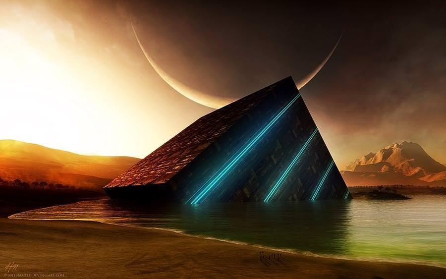 3d cube moonbeam hd wallpaper artwork copy