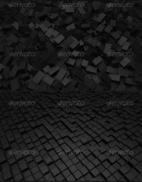 3d cubes fabric texture