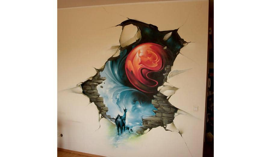 3d Painting Wall Decoration