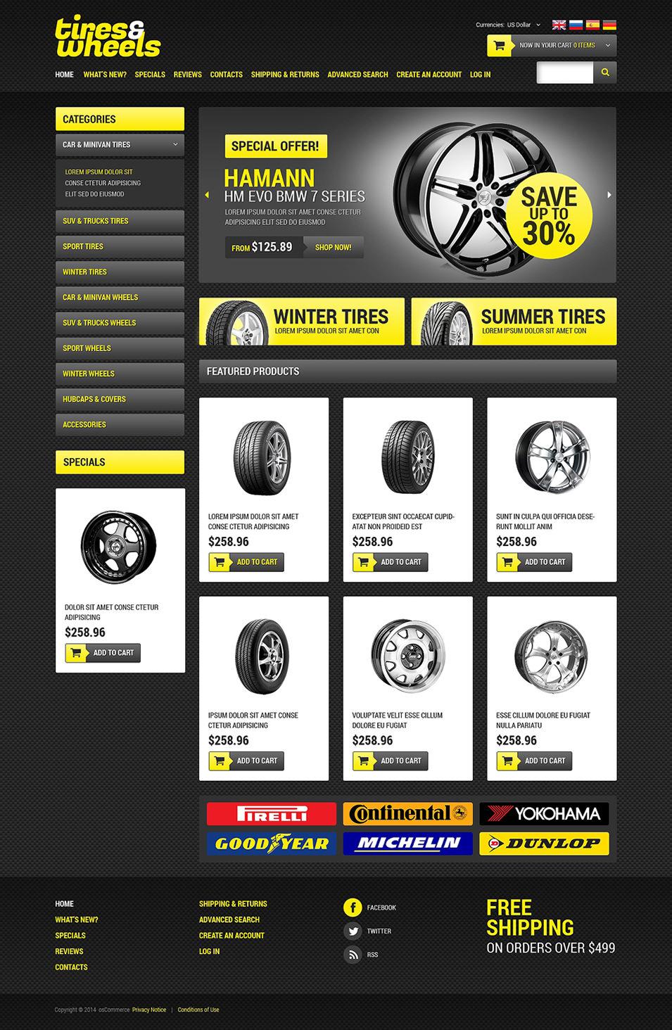 20+Best Premium osCommerce Templates | Free & Premium Templates