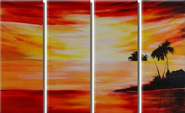 abstract paintings acrylic canvas