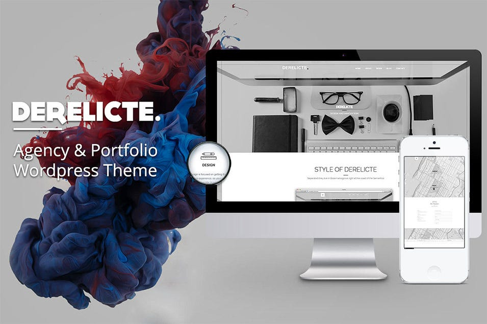 agency portfolio wordpress theme