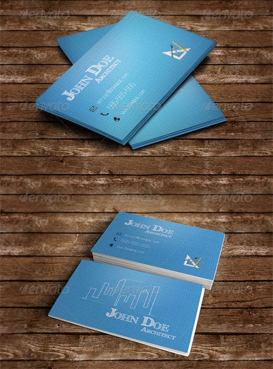 architect business card 2