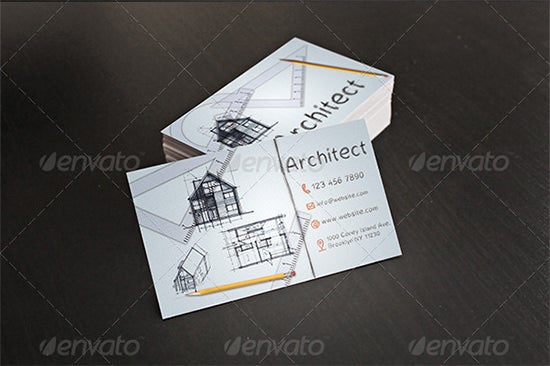 31 Best Business Cards For Architects Amp Constructors