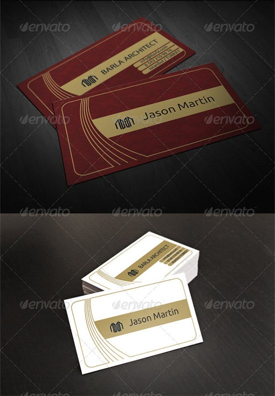 architect business card 9