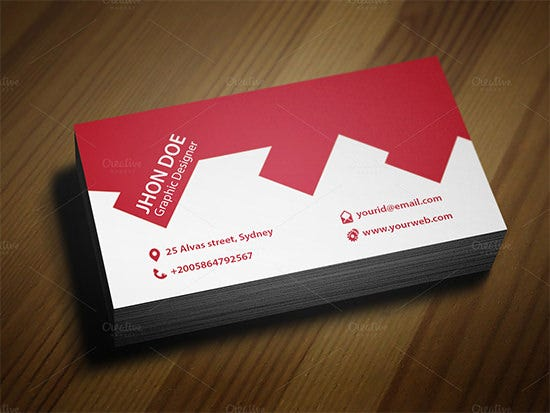 architect construction business card