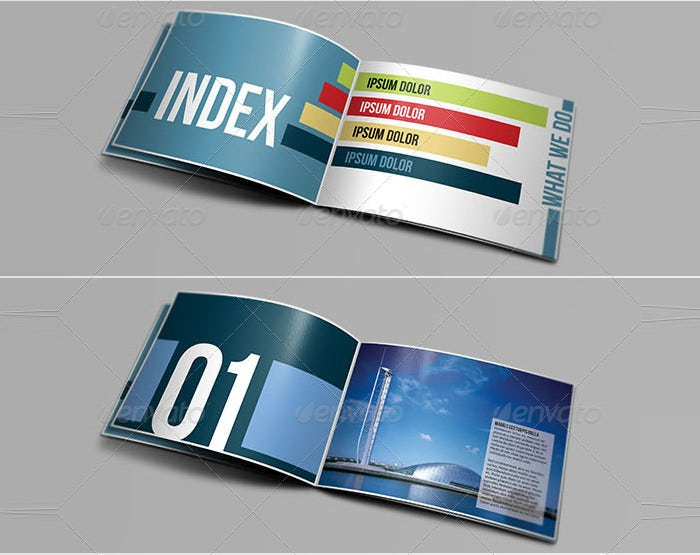 architecture brochure template4