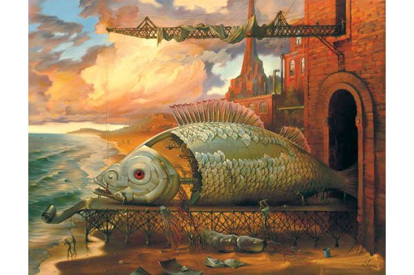 art fantasy fantastic illusion magic painting surrealism 4