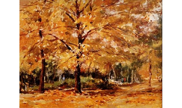 autumn giclee canvas print art overstock
